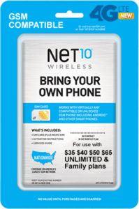 Net 10 Plan # 1 Image